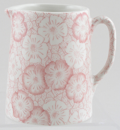 Burleigh Gentian pink Jug or Pitcher Tankard mini
