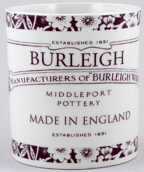 Burleigh Heritage plum Storage Jar Utensils