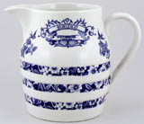 Burleigh Heritage Jug or Pitcher Hooped Churn