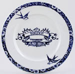 Burleigh Heritage Lunch Plate