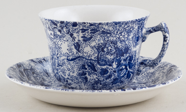 Burleigh Lottie Chintz Teacup and Saucer
