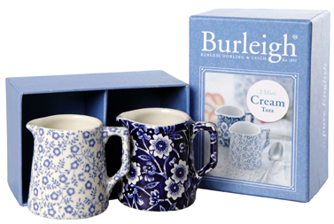 Burleigh Calico and Felicity Cream Tots Boxed set of 2