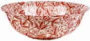 Burleigh Prunus red Fruit or Salad Bowl large