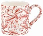 Burleigh Prunus red Mug