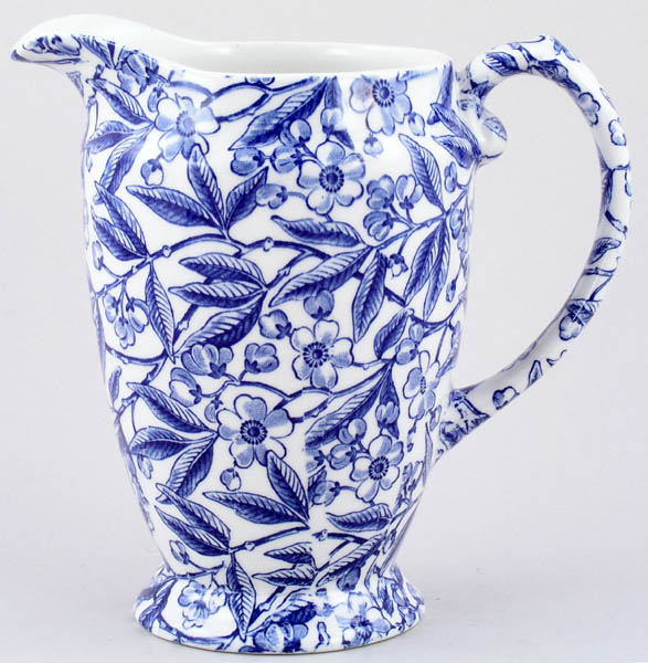 Burleigh Prunus Jug or Pitcher Princess