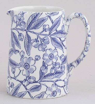Burleigh Prunus Jug or Pitcher Tankard small