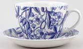 Burleigh Prunus Breakfast Cup and Saucer