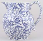 Burleigh Prunus Jug or Pitcher Etruscan small