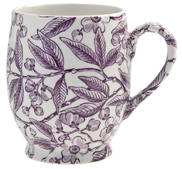 Burleigh Prunus plum Mug Footed