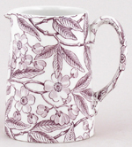 Burleigh Prunus plum Jug or Pitcher Tankard small