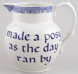Jug or Pitcher Made a posy