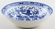 Burleigh Regal Peacock Cereal or Dessert Bowl
