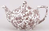 Burleigh Arden brown Teapot small