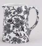 Burleigh Arden black Jug or Pitcher Tankard small