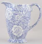 Burleigh Victorian Chintz Jug or Pitcher Princess