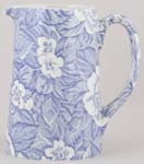 Burleigh Victorian Chintz Jug or Pitcher Tankard medium