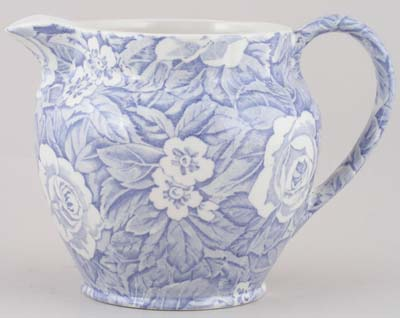 Burleigh Victorian Chintz Jug or Pitcher Dutch large