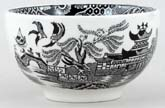Burleigh Willow black Rice Bowl small