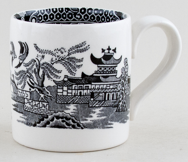 Burleigh Willow black Mug