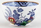 Booths Netherlands blue with colour Sugar Bowl c1930s