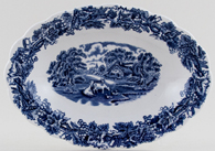 Booths British Scenery Dish c1950