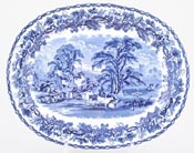 Meat Dish or Platter small c1938