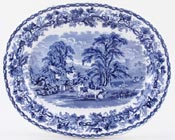 Meat Dish or Platter c1928