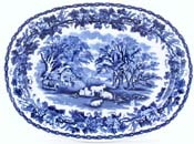 Meat Dish or Platter small c1917