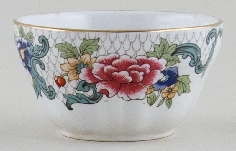 Booths Floradora colour Sugar Bowl c1950s