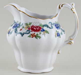 Booths Floradora colour Jug or Pitcher c1950s