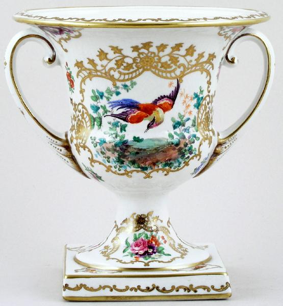 Booths Chelsea Birds colour Urn small c1915