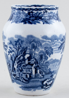 Booths British Scenery Vase c1930s