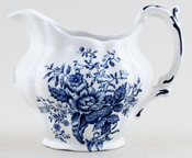 Booths Peony Jug or Creamer c1950s