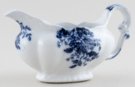 Booths Mayblossom grey Sauce or Gravy Boat c1890