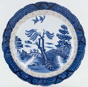 Booths Real Old Willow Plate c1929