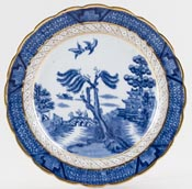 Booths Real Old Willow Plate c1946
