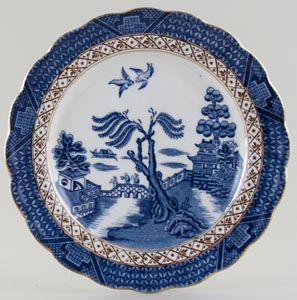 Booths Real Old Willow Plate c1940