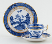 Miniature Cup, Saucer and Plate c1920s