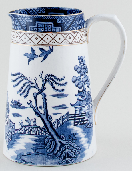 Harley Jones Ye Old Chinese Willow Jug or Pitcher c1930