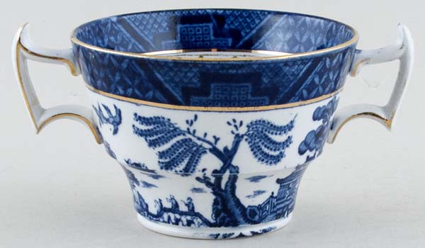 Booths Real Old Willow Breakfast Cup c1920s