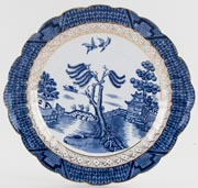 Booths Real Old Willow Cake Plate c1919