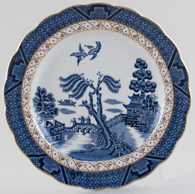 Booths Real Old Willow Plate c1950s