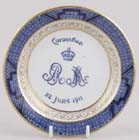 Miniature Plate 1911 Coronation