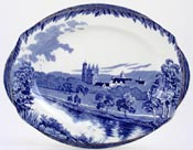 Meat Dish or Platter Balmoral Castle c1930s