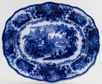 Burgess and Leigh Non Pareil Meat Dish or Platter c1900