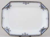 Burgess and Leigh Hamilton grey Meat Dish or Platter c1910