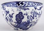 Burleigh Blue Bird Sugar Bowl c1980s
