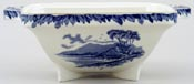 Burgess and Leigh Britain Beautiful Vegetable Dish Base Killarney c1930