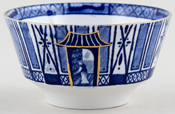 Burgess and Leigh Pagoda Sugar Bowl c1930s