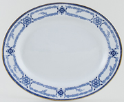 Burgess and Leigh Radford Platter c1920s
